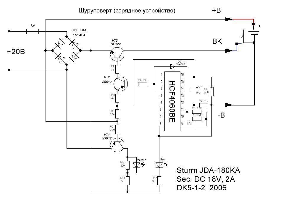 �adowarka wkr�tarki Einhell LG18-1H  du�y pr�d �adowania - zwarte akumulatory