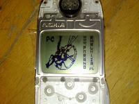 Wariometr, Atmega168 + LCD Nokia 3330 / 3310 + Bosh BMP085