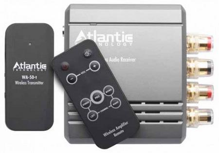 Atlantic Technology WA-5030 - bezprzewodowy system nadajnika i wzmacniacza audio
