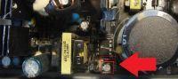 Uszkodzony zasilacz komputerowy (SilentiumPC Deus G1) - pulsuje dioda