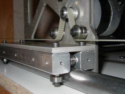 Automatic clearance reset on the propeller - CNC milling machine