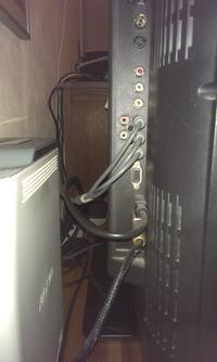 TV LCD Daewoo + Soundbar - jak podłączyć