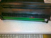 Drukarka OKI C5800 - zagina kartki...