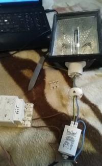 Podłączenie lampy HPS - statecznik