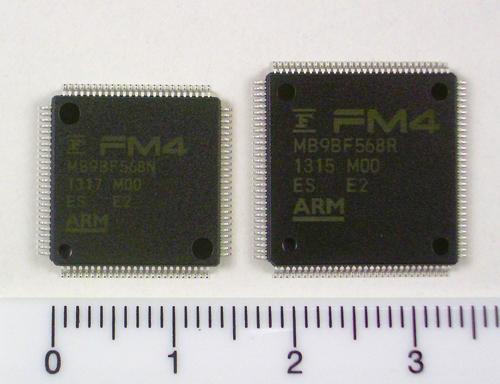Firma Fujitsu wypuszcza na rynek now� rodzin� mikrokontroler�w 32-bitowych FM4