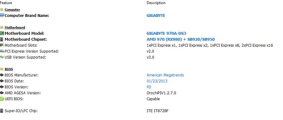 Gigabyte 970A-DS3 a GTX 1060 6GB ? Czy Stara Karta nie