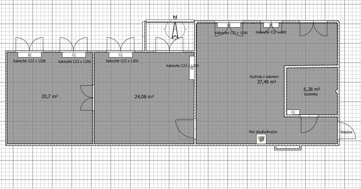 Wymiana instalacji CO i CWU - projekt i koncepcja