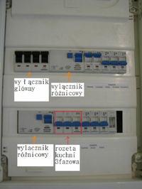 Zamiana 3fazowego gniazda400V w 3x 1fazowe 230V