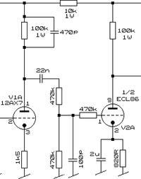 Wzmacniacz ECL86 + 6N2P przesterowuje czysty sygnał.