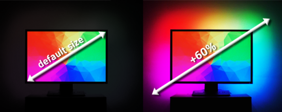 LUMINO - dynamiczne podświetlenie ekranu