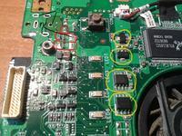 Asus Z96JM (asmobile), dioda zsilacza miga laptop nie wstaje