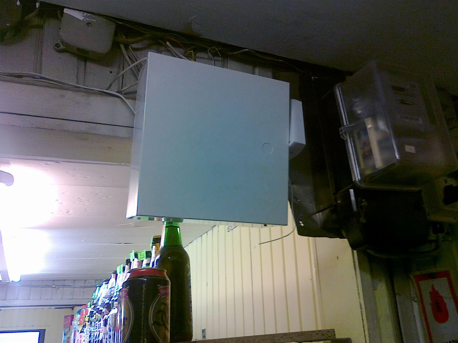 Ciekawostki instalacyjne (�mieszne fotki zabezpiecze�)