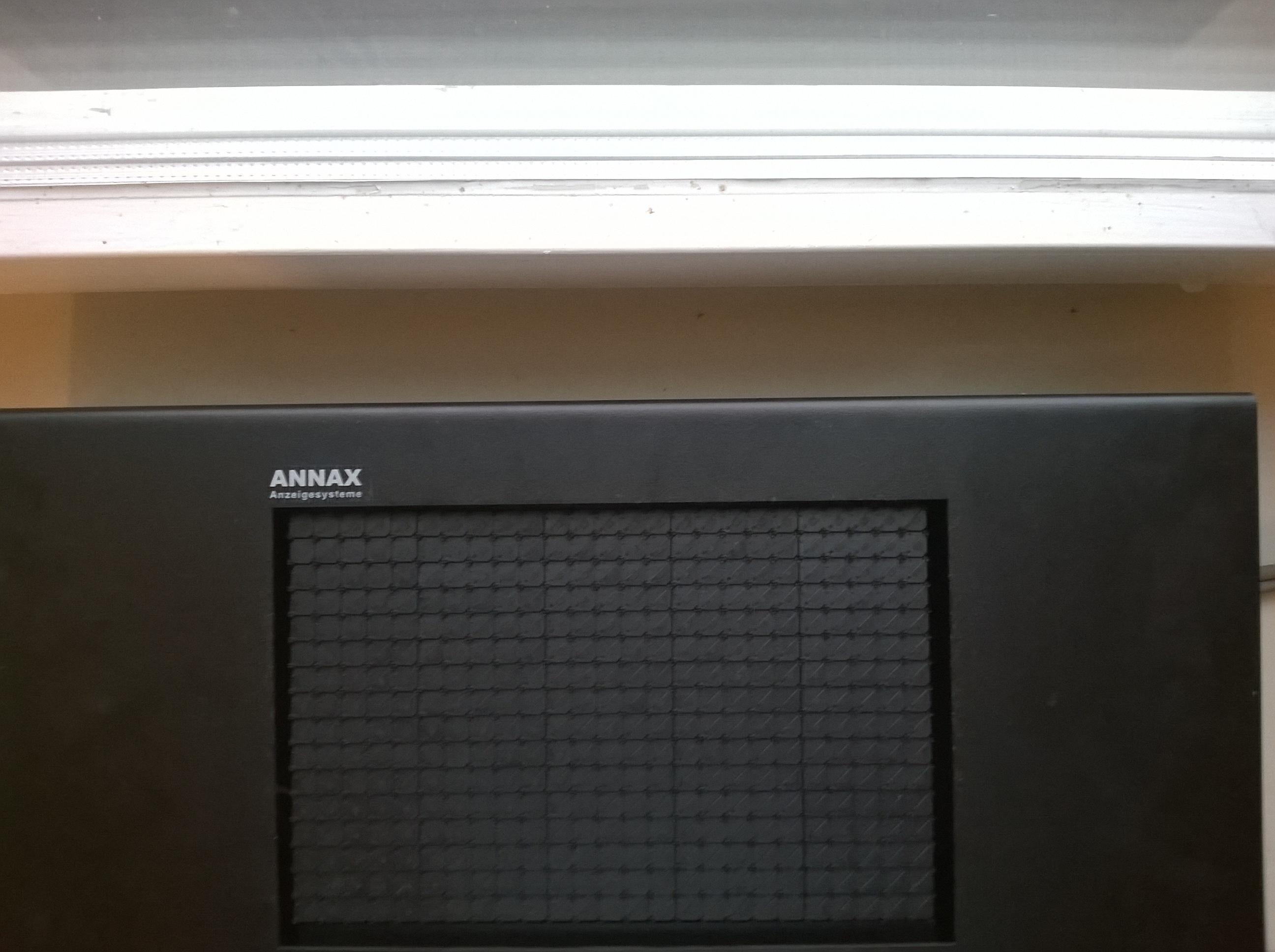 Tablice elektromagnetyczne ANNAX pod sterownik R&G SRG3000P - jak?