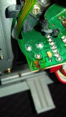 Odtwarzaczacz CD Sony CDP-270 nie czyta plyt po wymianie lasera KSS210a