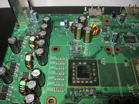 Konsola daje 2 diody, chociaż się nie grzeje.