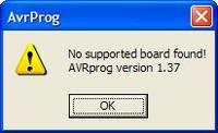Ponyser - AVRprog nie widzi programatora ani układu.
