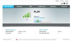 Brak internetu router E5180As-22, zasięg i pakiet jest.