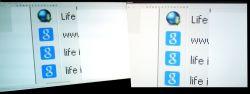 Dwa monitory IPS LG i różnica w barwach