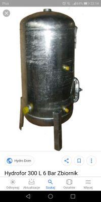 Zbiornik ocynkowany 300l ile nabić powietrza