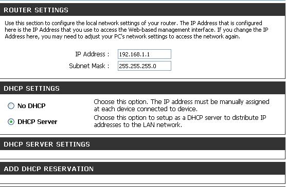 Router D-Link DSL - G624T - dzia�a na sieci bezprzewodowe a przewodowe nie
