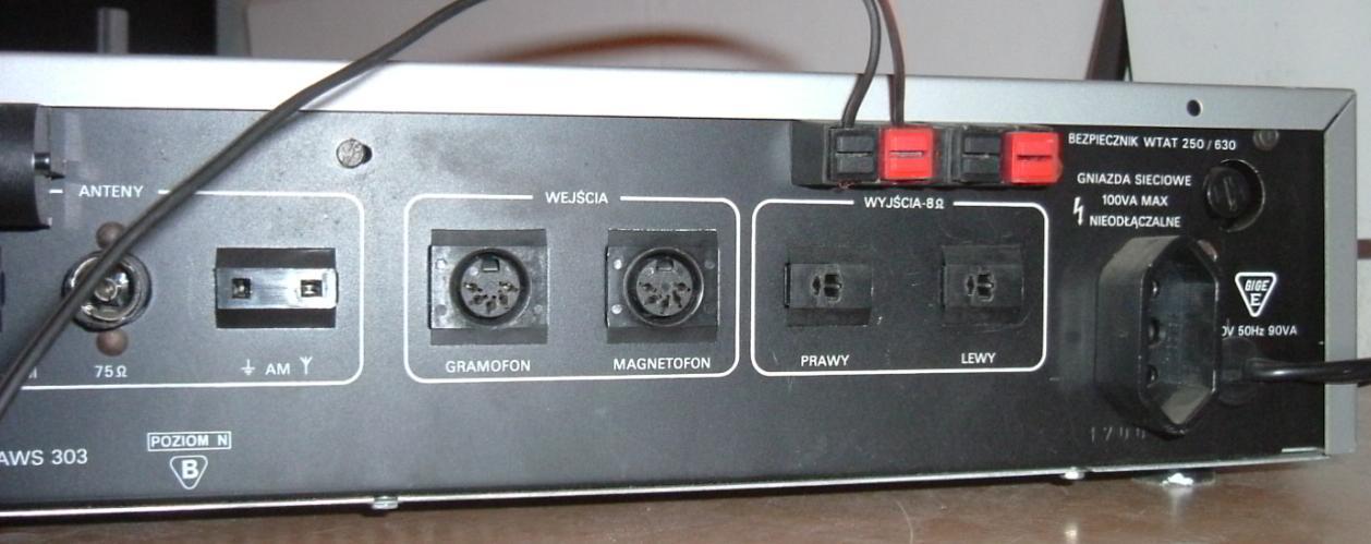 Pod��czenie amplitunera Unitra Tosca 303 do komputera
