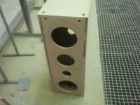 Tonsil Scherzo 200 odrestaurowane kolumny, biała perła, wysoki połysk