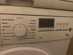 Pralka Siemens WM12E46FPL/11 - Błąd F00 i miga start po wymianie szczotek i skas