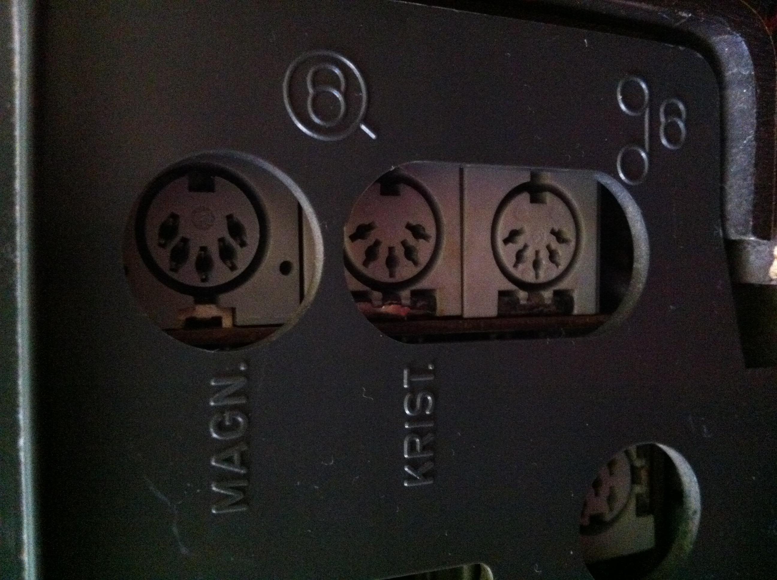 Blaupunkt STG 2091 - wej�cie i wyj�cie audio