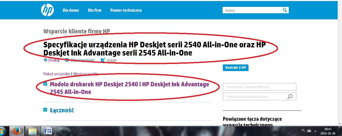 HP Deskjet Ink Advantage 2545 - Drukarka ucina kawa�ek dolnej cze�ci kartki.