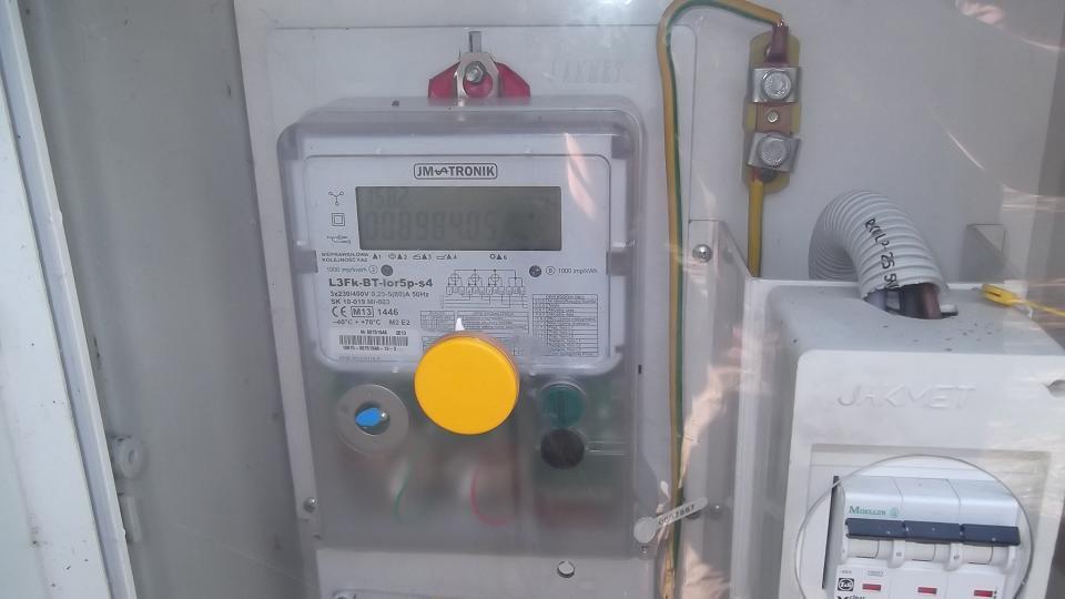 PLC  - licznik energii - program do wizualizacji