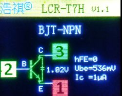 Kolejny, ale jednak nieco inny - Tester elementów elektronicznych TC-1