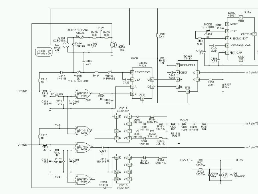 Olivetti CDU 439/GS01 - Poszukuj� schematu monitora.