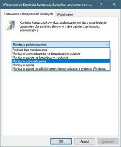 Konto administratora w PC - wymagaj hasła