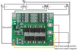 problem z BMS w baterii od wkrętarki