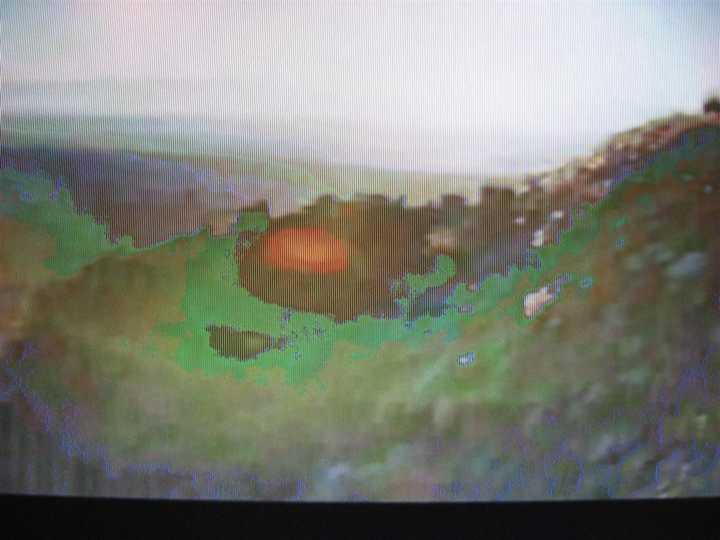 "NORDMENDE 19"" N1905LB - Spad�a jako�� wy�wietlania - plamy, smugi, zielone"