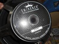 Odsłuch estradowy na EMINENCE DELTA 15A