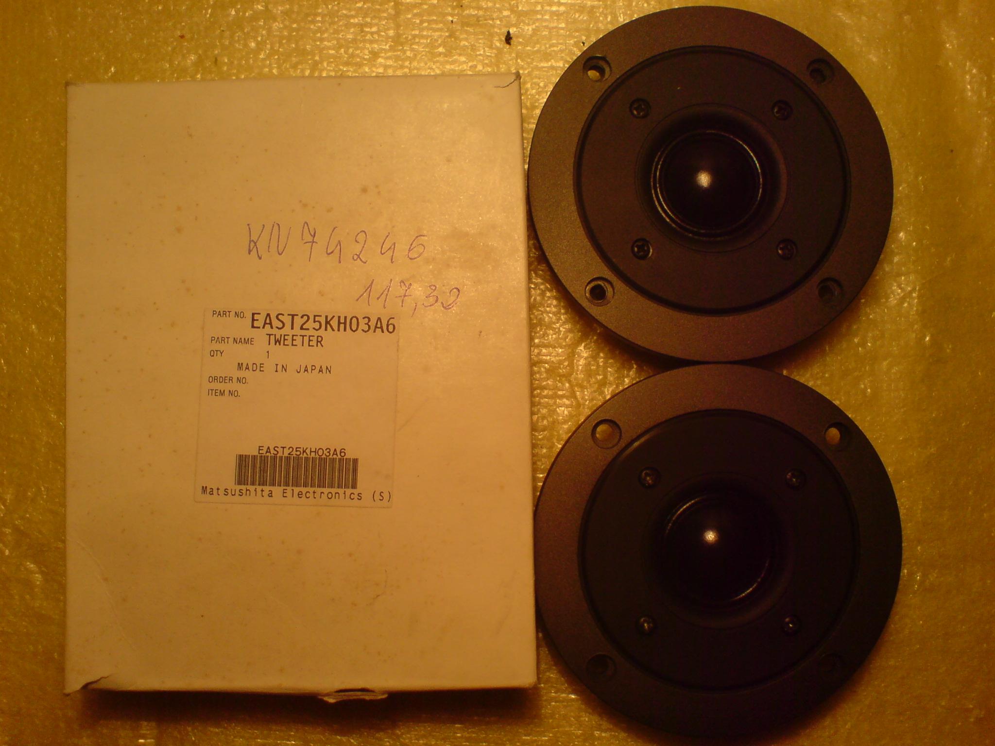 [Sprzedam] G�o�nik wysokotonowy EAST25KH03A6 do kolumn Technics SB-T100/200
