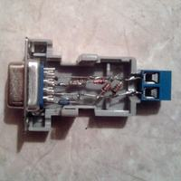 adapter 1-wire DS9097E + przejściówka USB -> RS232