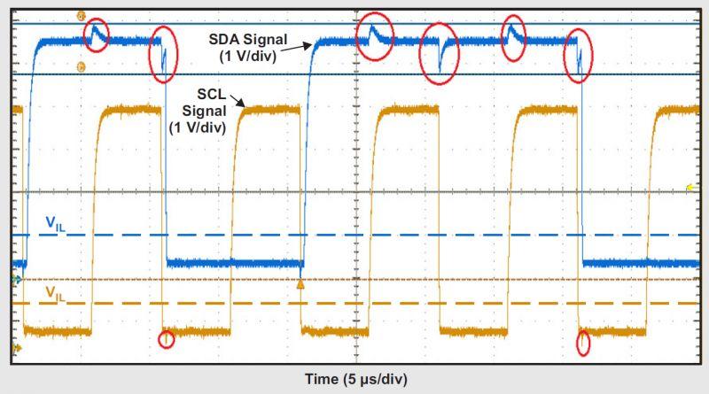 Debuggowanie I2C z pomocą oscyloskopu