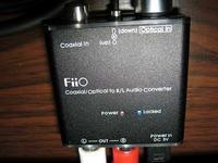 Wejście: Sony STR DE335 2xRCA - Wyjście Coaxial do Amplitunera