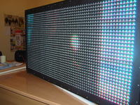 LED screen – LED line part based on AVR, Linux and WiFi