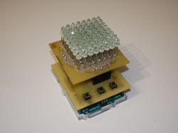 Retro gra Arkanoid na własnoręcznie wykonanym wyświetlaczu LED 8x8 i Arduino.
