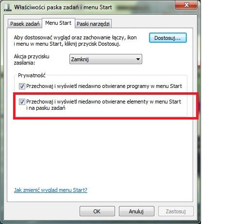 Windows 7 x64 Pro - Nie dzia�a menu rozwijane program�w