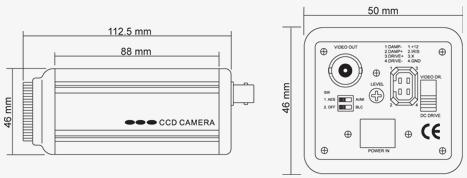 Kamera przemyslowa CCD CAMERA