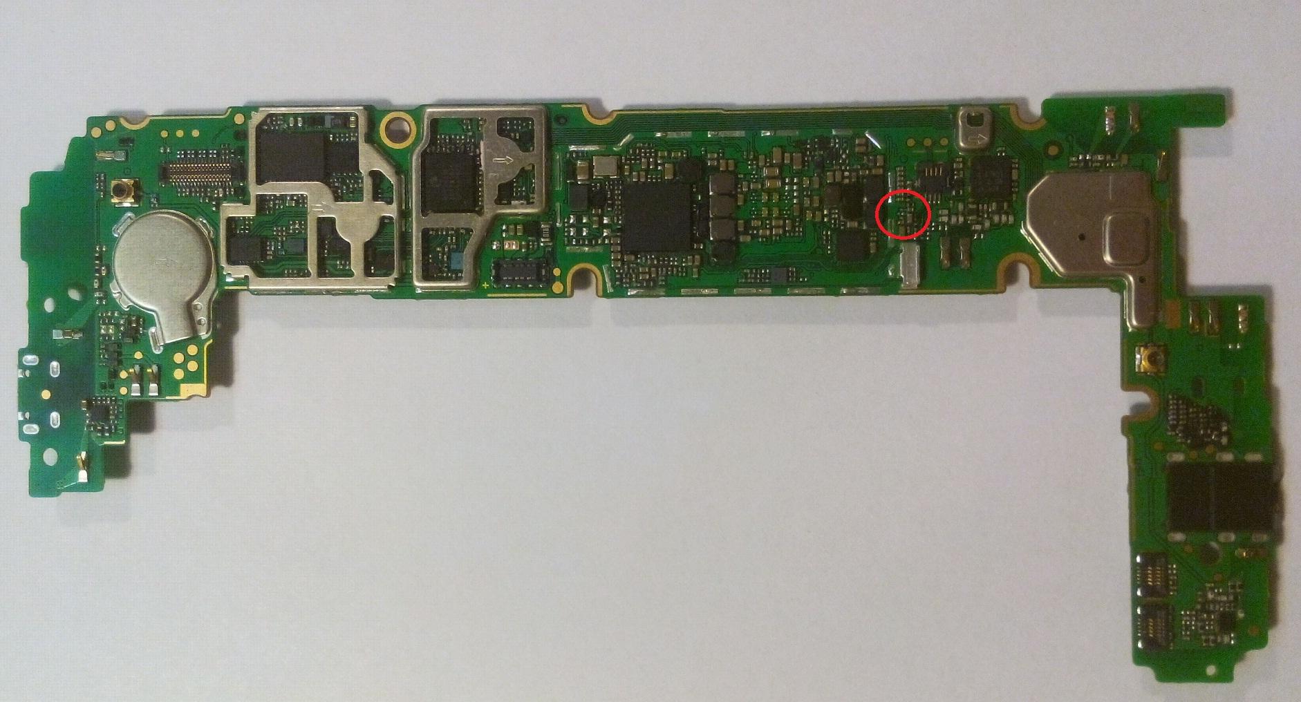 Groovy Huawei P8 Lite brak zasięgu - prośba o identyfikację elementu YH63