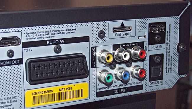 DVD LG HT903  - Jak Pod�aczyc DVD ( LG HT903 ) Do Wzmacniacza/Amplitunera?