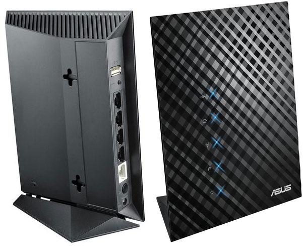 Router Asus RT-N14U - brak oznak konfiguracji