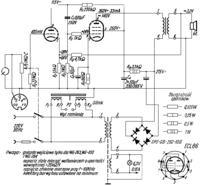 Wzmaczniacz lampowy na ECL86 z gramofonu Bambino - regulacja tonów