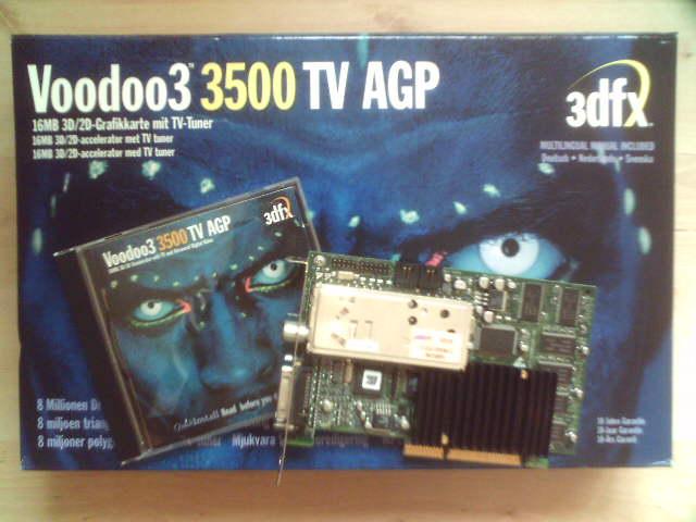 Vooodoo 3500 TV AGP - poszukuje sterownik�w wraz z oprogramowaniem TV lub CD