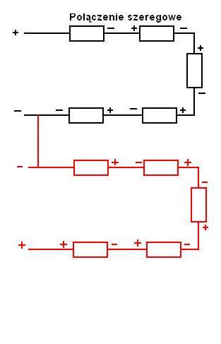 Połączenia: równoległe i szeregowe